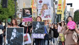 Fur Free Week Japan