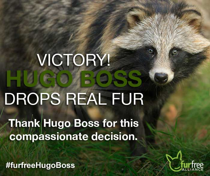 HUGO BOSS commits to fur-free policy - Fur Free Alliance