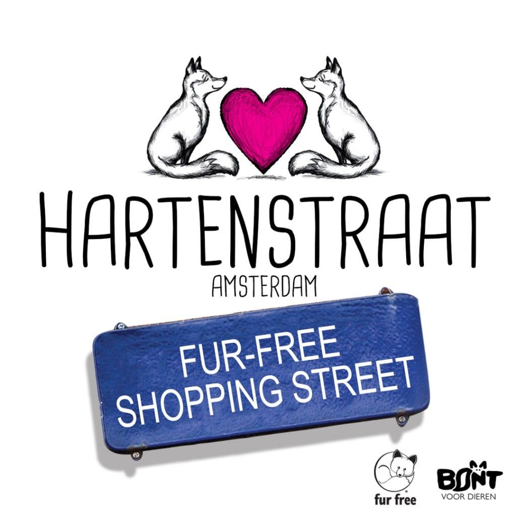 fur-free shopping street Hartenstraat
