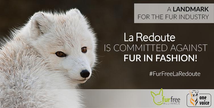 La Redoute joins Fur Free Retailer